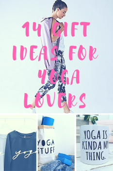 gift ideas for yogis and yoga lovers