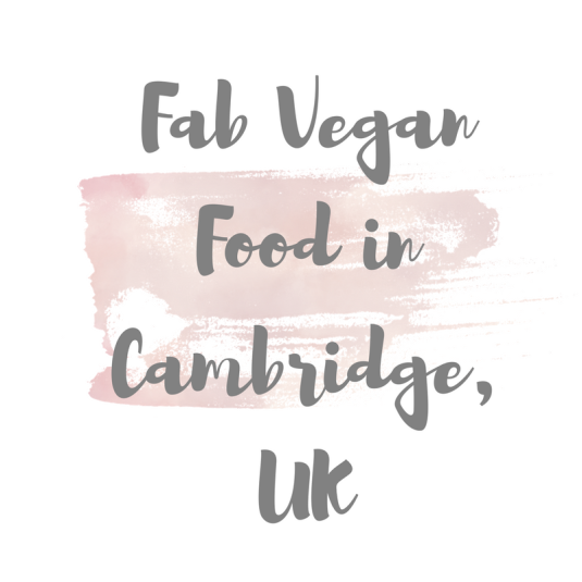 vegan food in cambridge uk