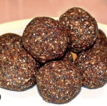 Energy balls with dried jujube